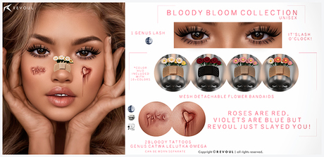 REVOUL - Bloody Bloom Collection <3