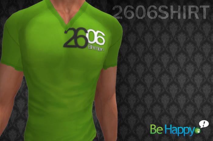 !BH - 2606 Shirt - Green