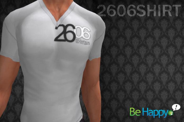 !BH - 2606 Shirt - White