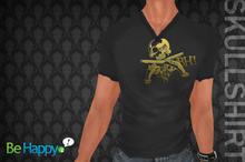 !BH - Skull Shirt - Black