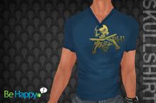 !BH - Skull Shirt - Blue