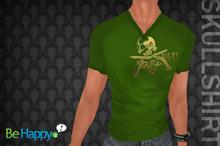 !BH - Skull Shirt - Green