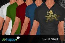 !BH - Skull Shirt - Pack