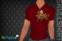 !BH - Skull Shirt - Red