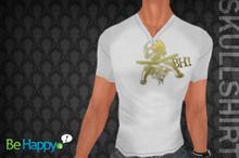 !BH - Skull Shirt - White