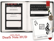 -W-[ Note Keeper Hud ] Death Note