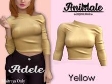 Animale.Adele Shirt / Maitreya / Yellow {Unpack}