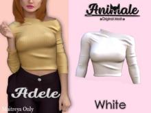 Animale.Adele Shirt / Maitreya / White {Unpack}