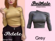 Animale.Adele Shirt / Maitreya / Grey {Unpack}