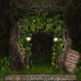 ❃Fantasy Forest Collection: Entwined Tree Arch with Lanterns