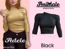 Animale.Adele Shirt / Maitreya / Black {Unpack}
