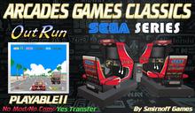 = Out Run Cockpit = Sega Arcades Games [BOX]