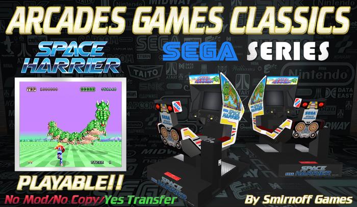 = Space Harrier Cockpit = Sega Arcades Games [BOX]