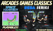 = Space Harrier Cockpit = Sega Arcades Games [BOX]