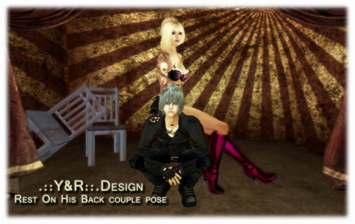 .::Y&R::.Design Rest on his BAck couple pose(boxed)