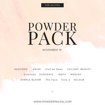 POWDER PACK LELUTKA November 19'