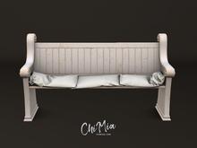 ChiMia:: Church Pew [Holy White]