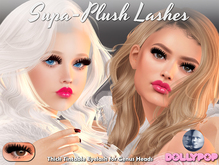 ~Dollypop~ Supa-Plush Lashes for Genus - Group Gift In World