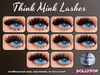 ~Dollypop~ Think Mink Lashes For Genus - 10 Styles