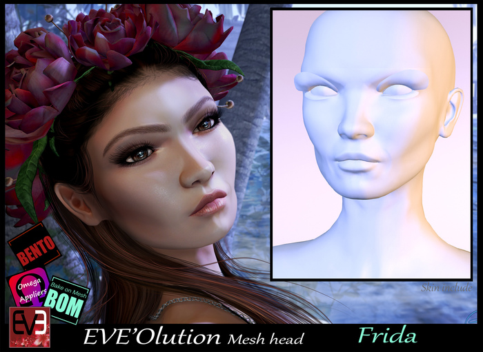 *!* EVE'Olution Frida Mesh head BOM