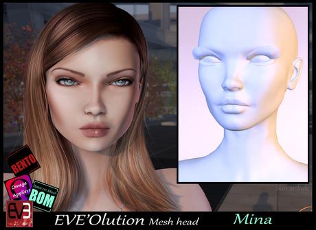 *!* EVE'Olution Mina Mesh head BOM