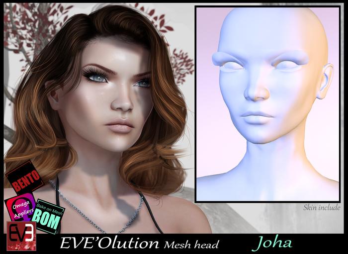 *!* EVE'Olution Joha Mesh head BOM