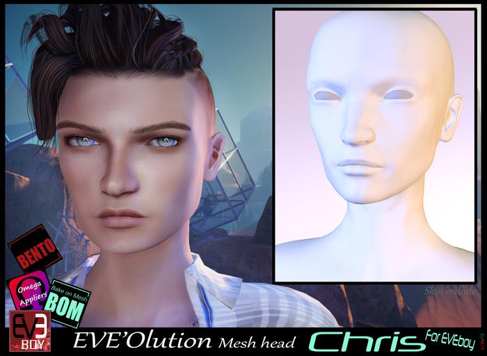 *!* EVE'Olution Chris Mesh head BOM  Bento