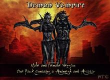 [NTC] Demon Vampire Male [Animesh & Avatar]