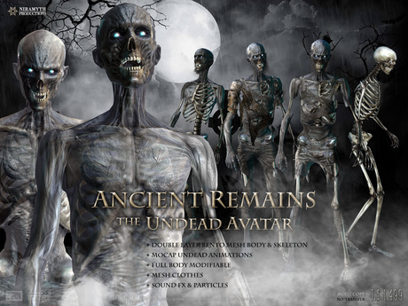 (NIRAMYTH) - ANCIENT REMAINS - The Undead Avatar