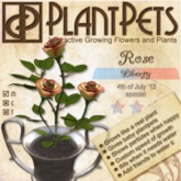 PlantPet Seed [Rose *Liberty*] Updated 2019