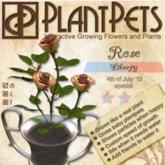 PlantPet Seed [Rose *Liberty*]