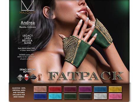 [[ Masoom ]] Andrea Bento- FATPACK- Legacy, Lara, Belleza & Slink-