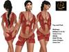 [RG] Indian Girl Red Top & Pant (Box)