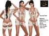 [RG] Indian Girl Withe Top & Pant (Box)