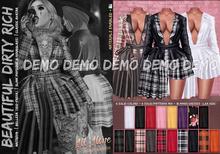 *B.D.R.* All Alone -Jacket & Dress-DEMO