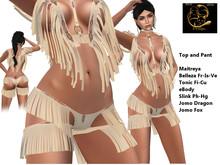 [RG] Indian Girl Top&Pant Outfit (Box)