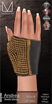 [[ Masoom ]] Andrea Bento- Black- Legacy, Lara, Belleza & Slink-