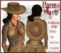 Harm's Way Western Hat in tan