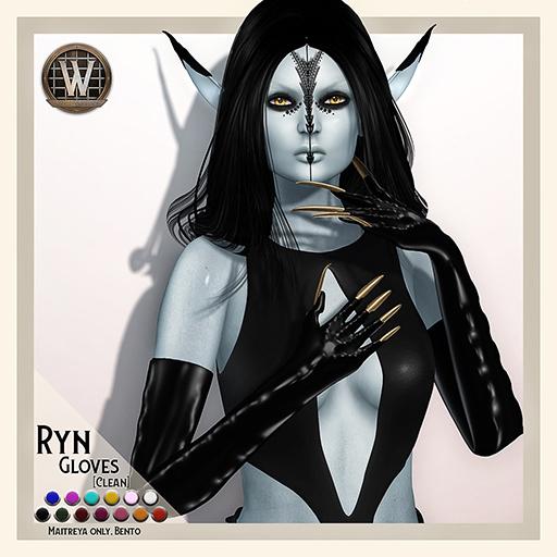 Wicca's Originals - Ryn Gloves (Clean) (ADD)