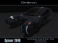 [Omikron] Spinner 2049 - Mesh