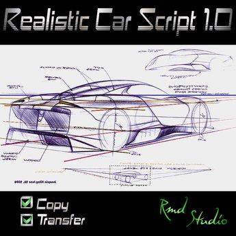 Realistic car script ( Scripts & exemples )