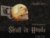 .: RatzCatz :. Skull in Hands Statue Wall