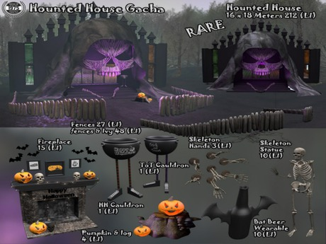 [Since1975] Hounted House Pumpkin Decor