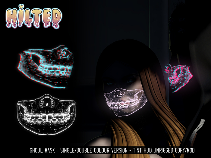 HILTED - Ghoul Mask