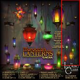 TLG - Moroccan Lanterns  -6 Teardrop Mobile [Rare]