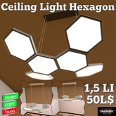 *DenPaMic* Ceiling Light Hexagon