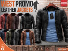 [CA] PROMO WEST LEATHER JACKETS