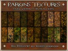 Parkins Textures - Fall Terrain Set - BOXED