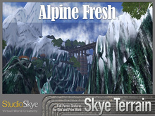 Skye Terrain Textures - Alpine Fresh - 81 Snow Full Perms Textures