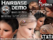 :unBra DEMO: Hairbase Sets (BOM) BakesOnMesh